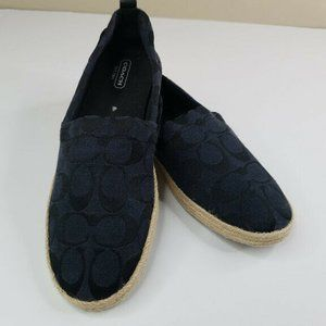 New Coach Mellow Signature Slip On Shoes Size 9
